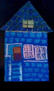 Our little blue house.