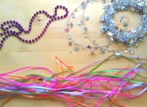Stuff to make fairy headband. easy.