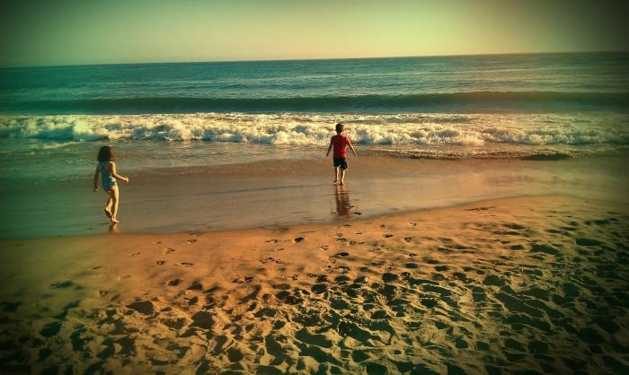 Lovely day at the beach. Santa Cruz