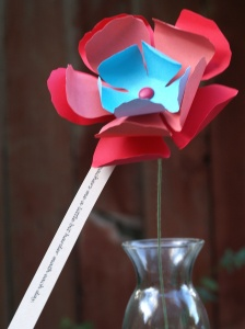 DIY Paper Flowers - Teacher Appreciation Day