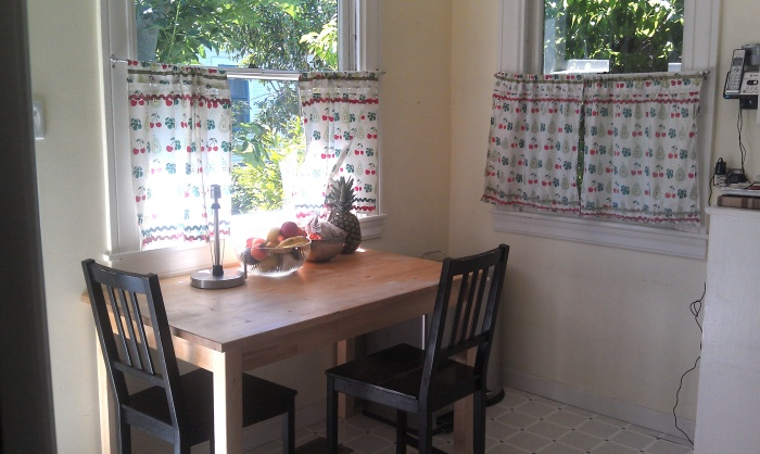 Kitchen Breakfast Nook before minor refresh.