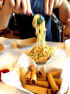 Lumpias & Garlic Noodles