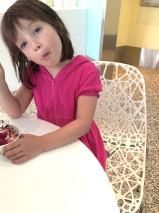 Pinkberry thief.