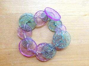 Finished Button Bracelet