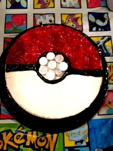 Pokeball Cheesecake