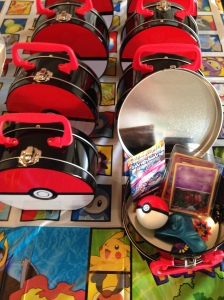 Pokeball non-party party favors.