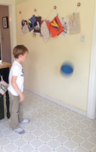 Kitchen Wall Ball Break.