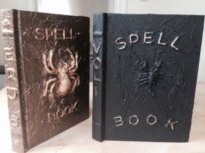 DIY Spell Books for Harry Potter Costume